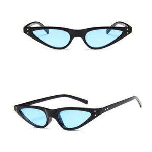 ALI G Vintage Fashion Cat Eye Sunglasses Retro